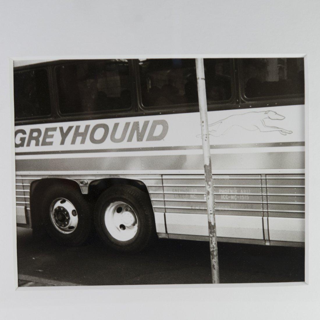 """Andy Warhol Polaroid """"Greyhound Bus"""" - 6"""