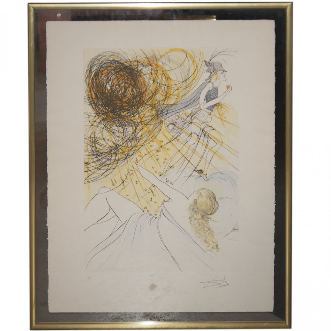 Salvador Dali (Spanish 1904-1989) Artist Proof