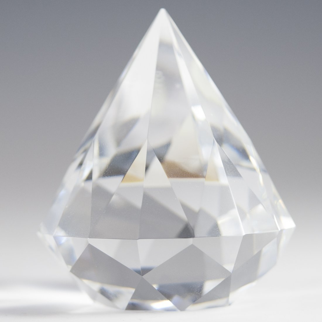 Tiffany & Co. Crystal Paperweight