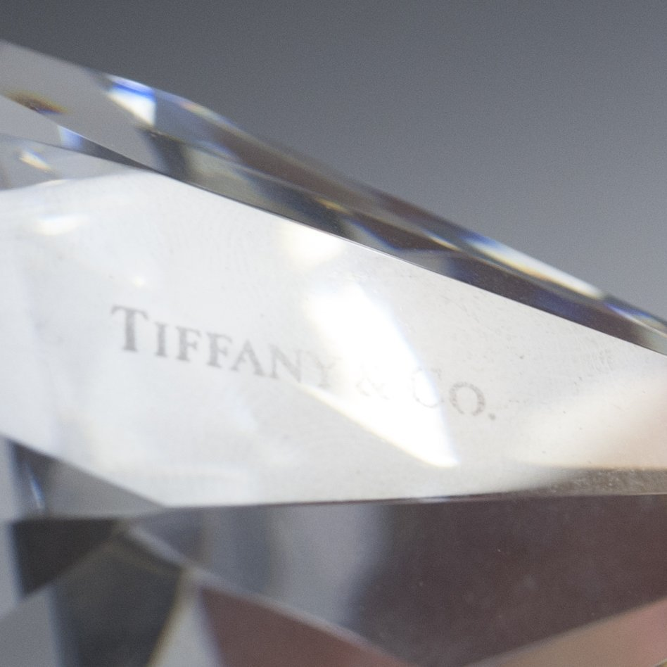 Tiffany & Co. Crystal Paperweight - 2