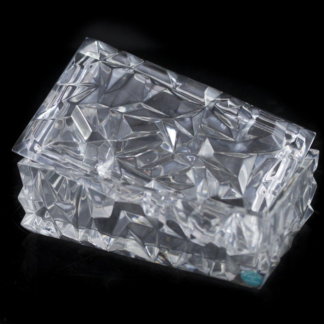 Tiffany & Co. Crystal Box
