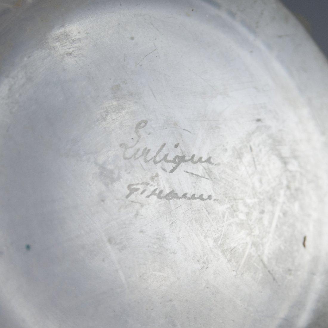 "Lalique Crystal ""Royat"" Vase - 2"