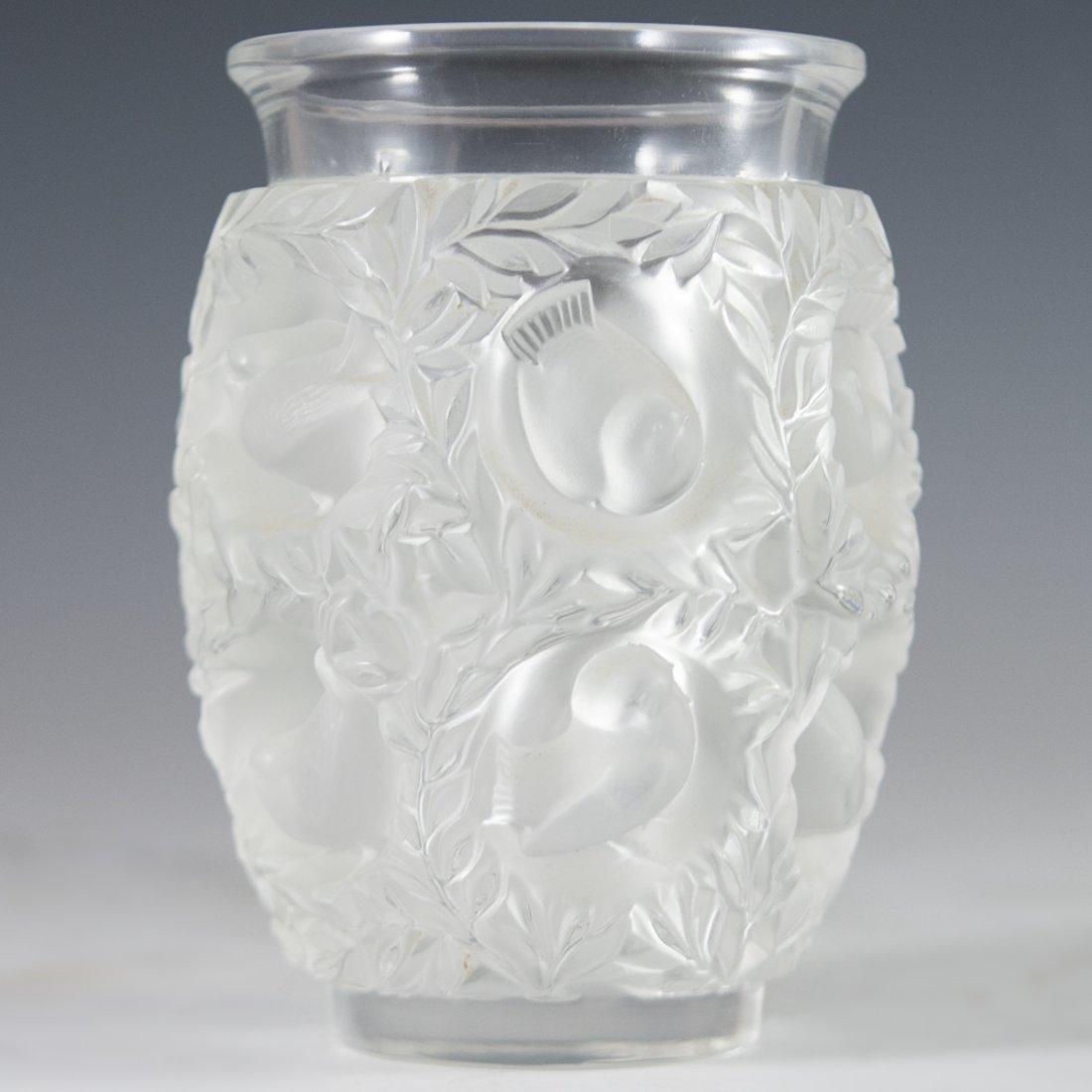 """Lalique """"Bagatelle"""" Crystal Vase"""