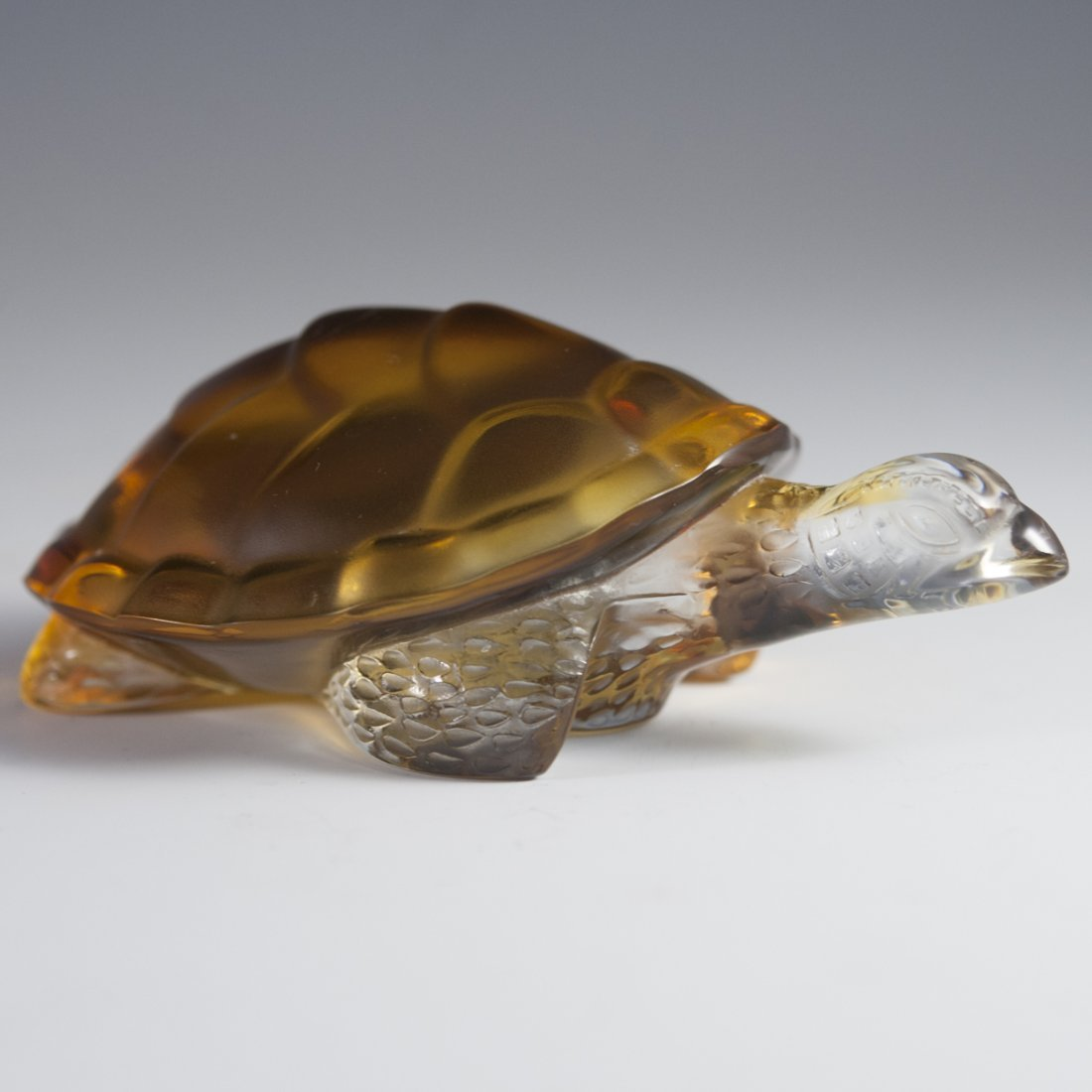 "Lalique Crystal ""Caroline"" Turtle"