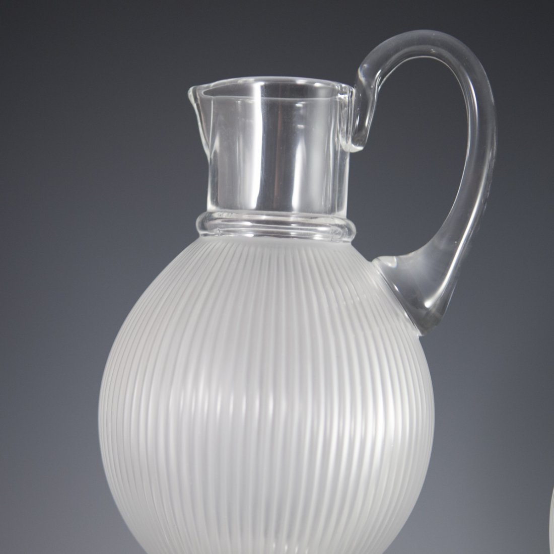 "Lalique Crystal ""Langeais"" Stemware - 4"