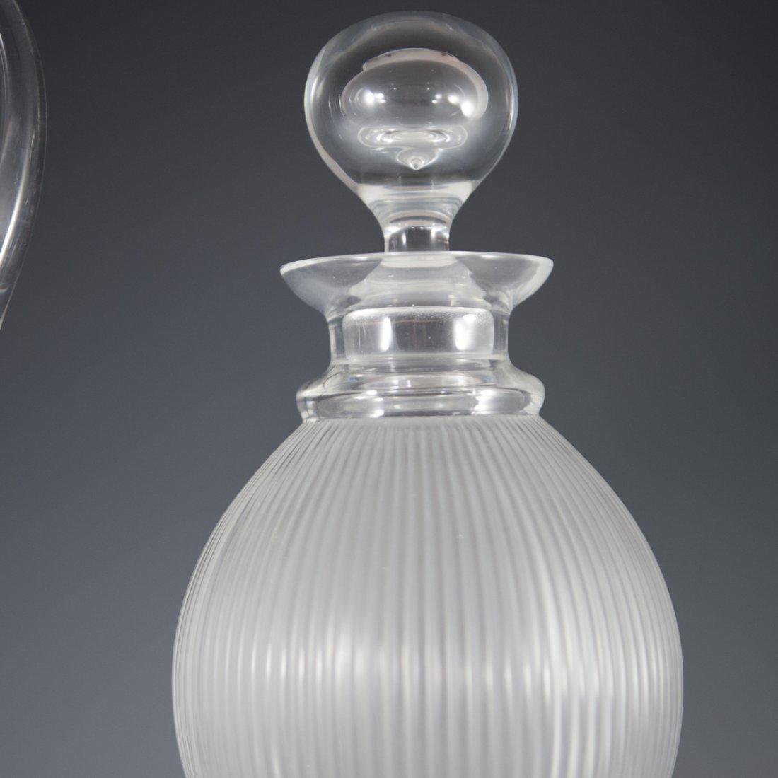 "Lalique Crystal ""Langeais"" Stemware - 5"