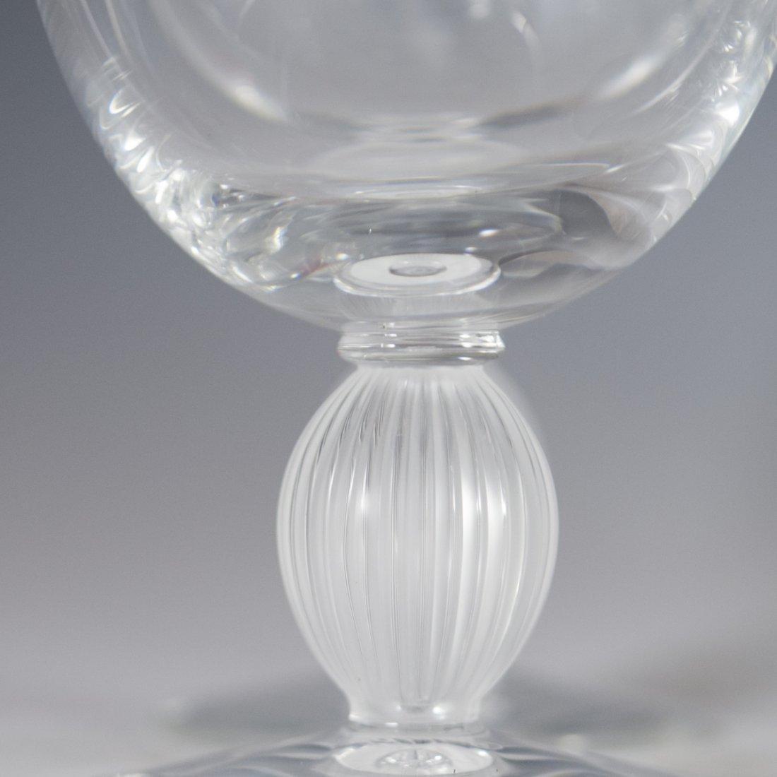"Lalique Crystal ""Langeais"" Stemware - 6"