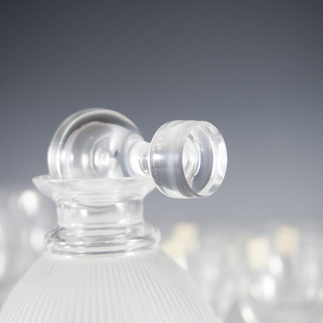 "Lalique Crystal ""Langeais"" Stemware - 8"
