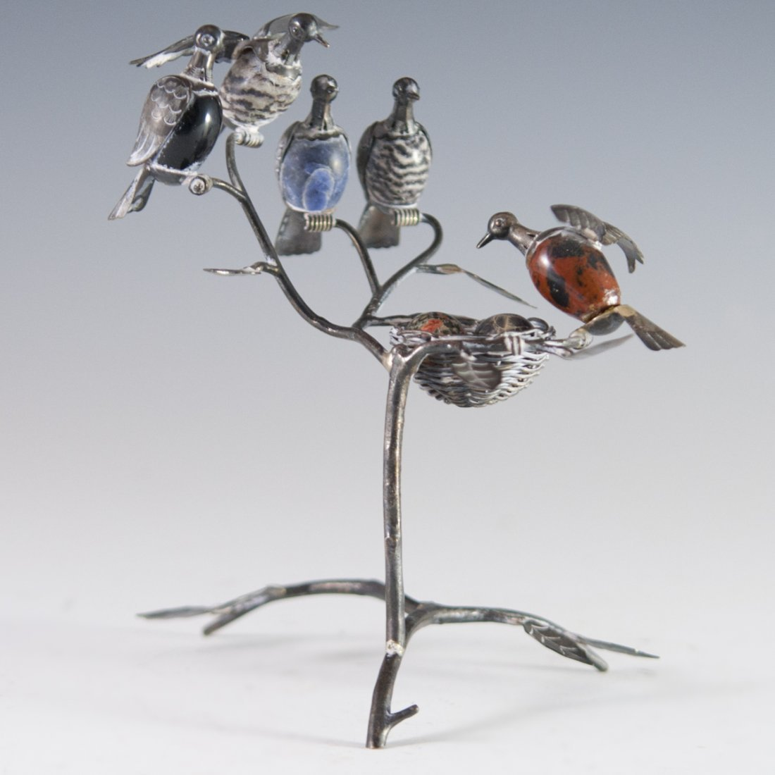 Mexican Sterling Bird Figurine