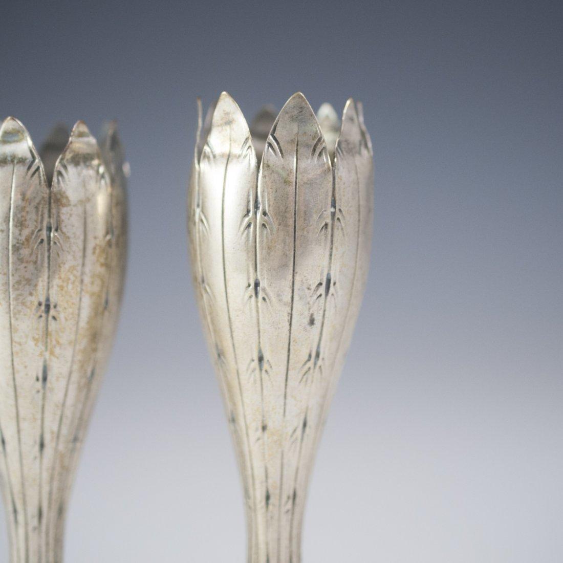 F. Lastretti Sterling Candlesticks - 2