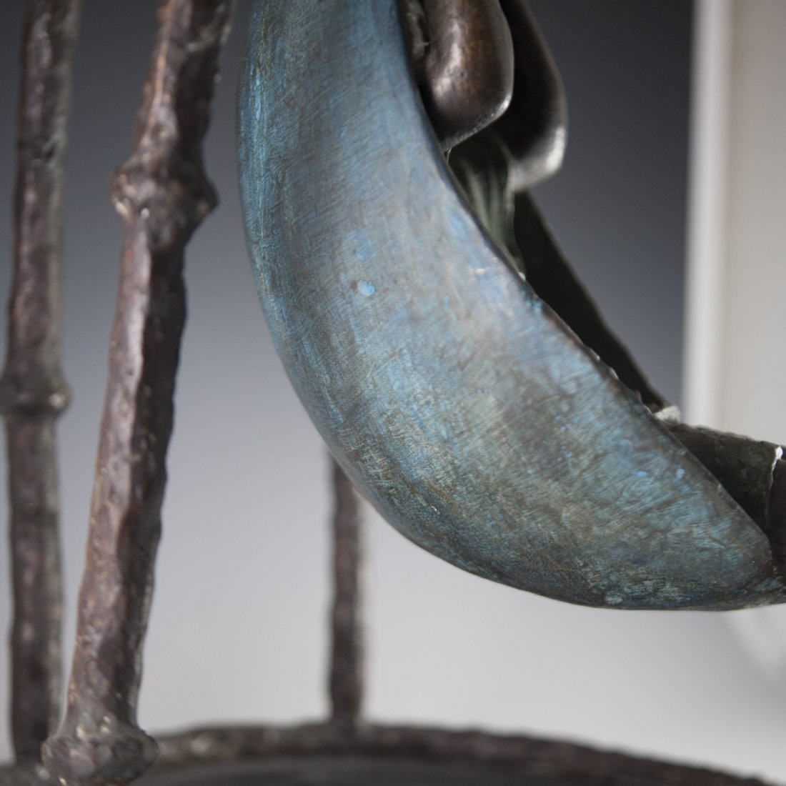 """Mujer en Columpio"" Mexican Bronze - 3"