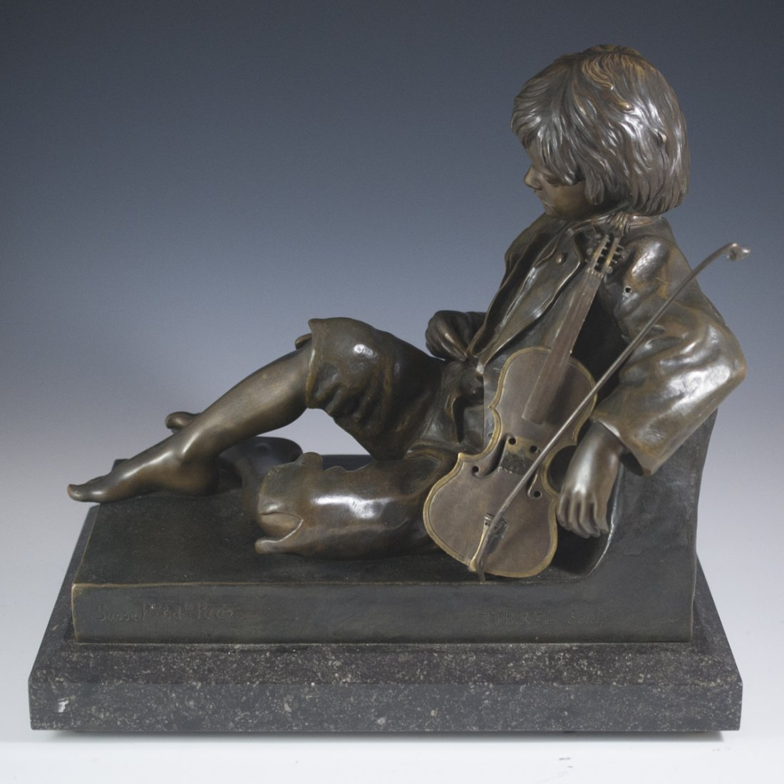 LŽon Tharel (French 1858 - 1902) Susse Foundry Bronze - 8