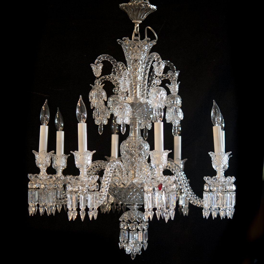 "Baccarat Crystal ""Zenith"" Chandelier"