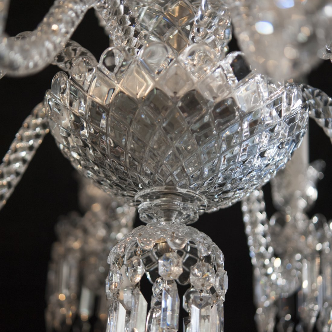 "Baccarat Crystal ""Zenith"" Chandelier - 4"