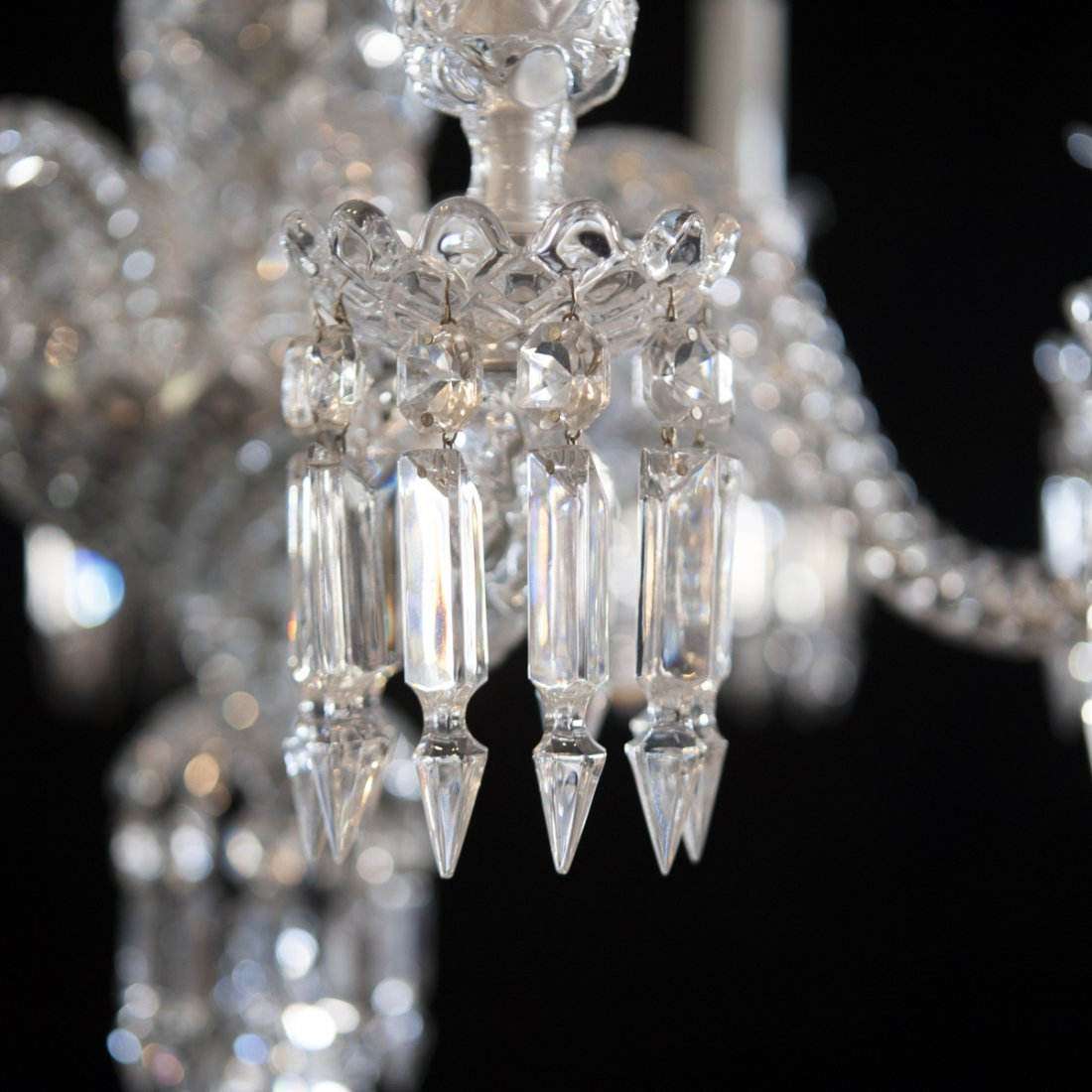 "Baccarat Crystal ""Zenith"" Chandelier - 5"