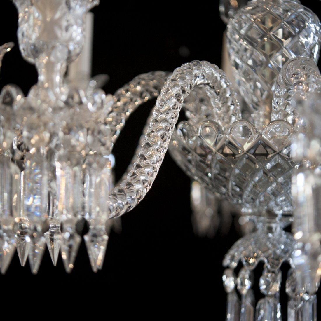 "Baccarat Crystal ""Zenith"" Chandelier - 6"