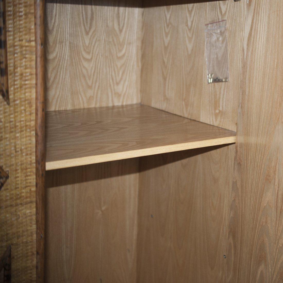 Vintage Wicker & Bamboo Furniture Set - 3