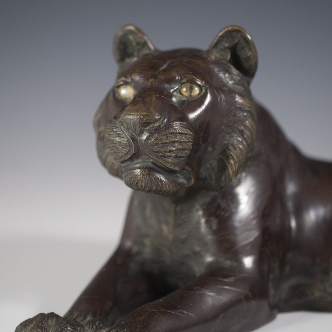 Chinese Bronze Tiger - 2