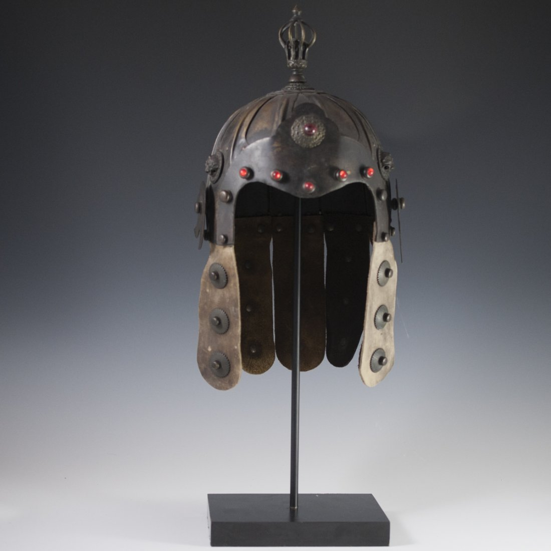 Antique Chinese Helmet