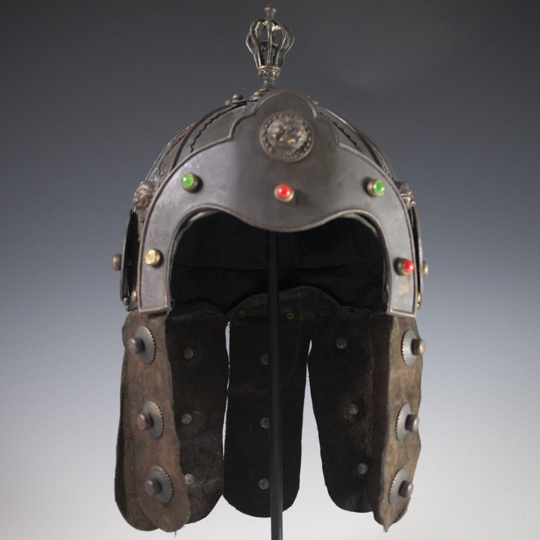 Antique Chinese Helmet - 2