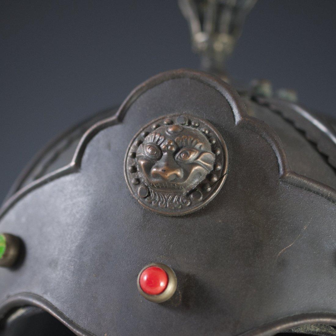 Antique Chinese Helmet - 4
