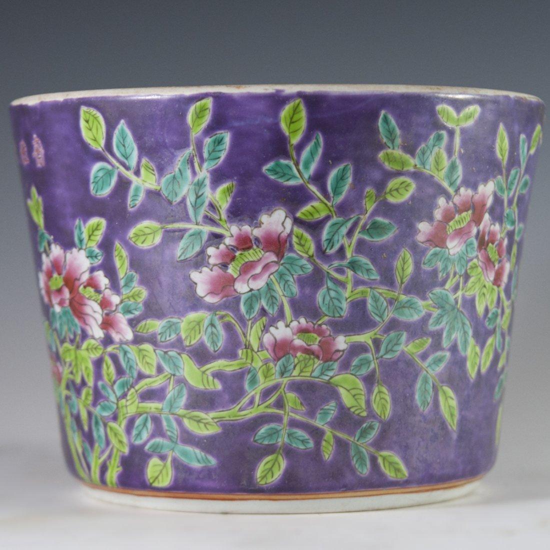 Chinese Porcelain Daya Zhai Cache Pot