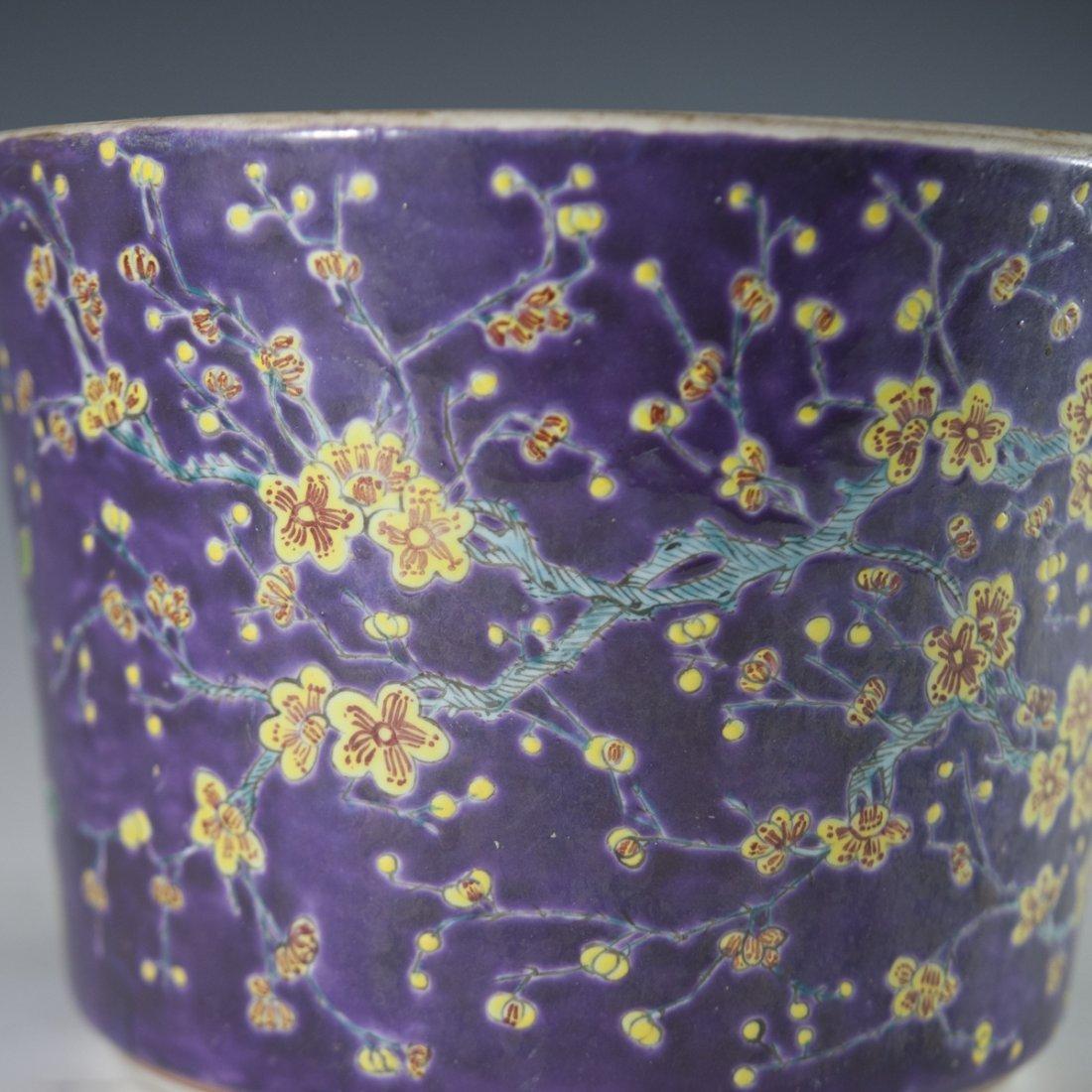 Chinese Porcelain Daya Zhai Cache Pot - 4