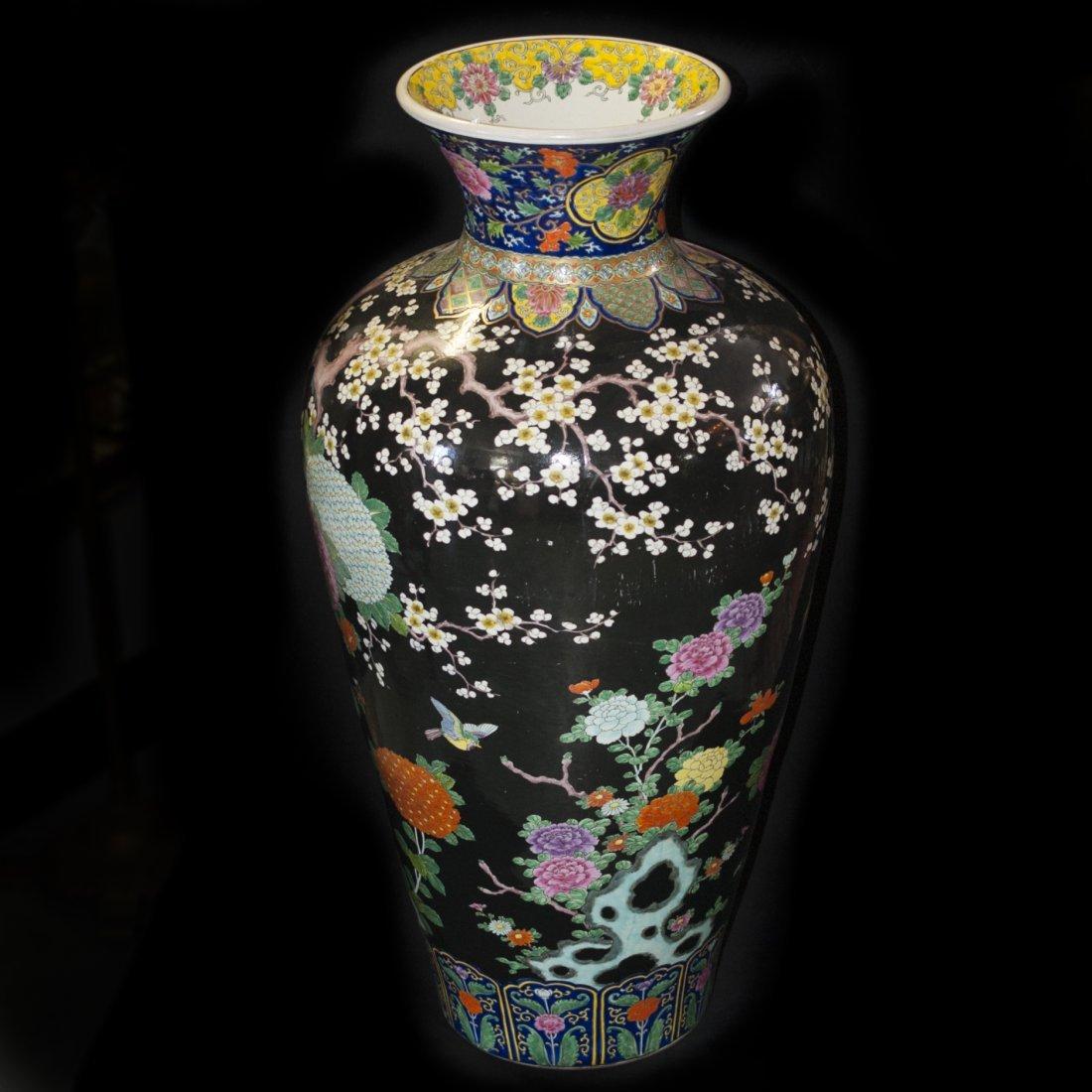 Palace Size Japanese Porcelain Vase