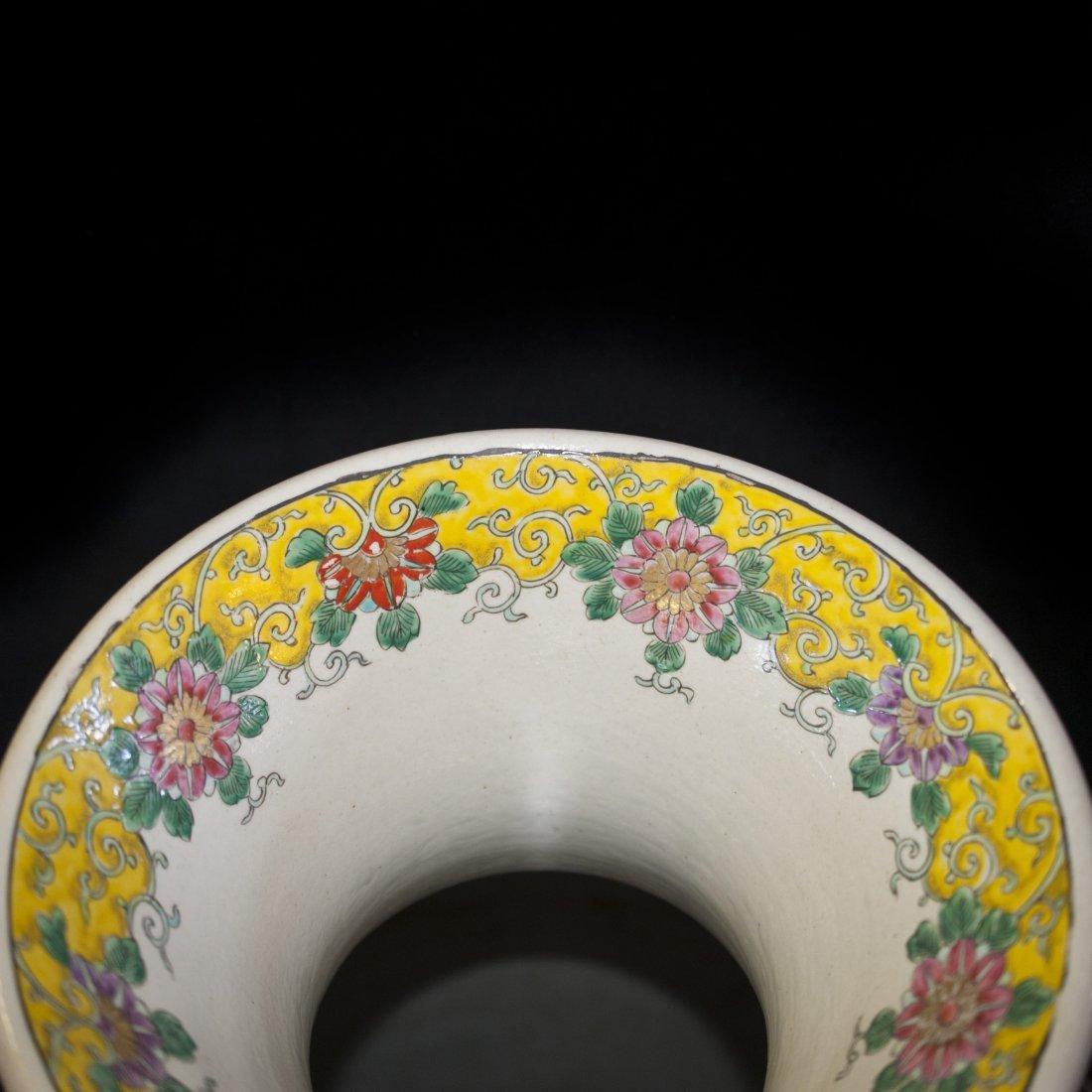 Palace Size Japanese Porcelain Vase - 4