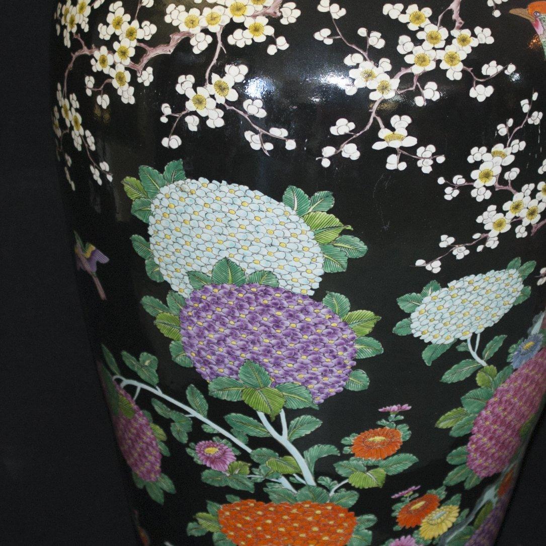 Palace Size Japanese Porcelain Vase - 5