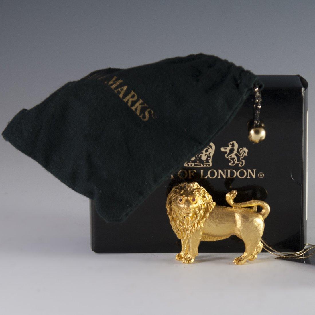 Lana of London Gilded Sterling Belt Buckle