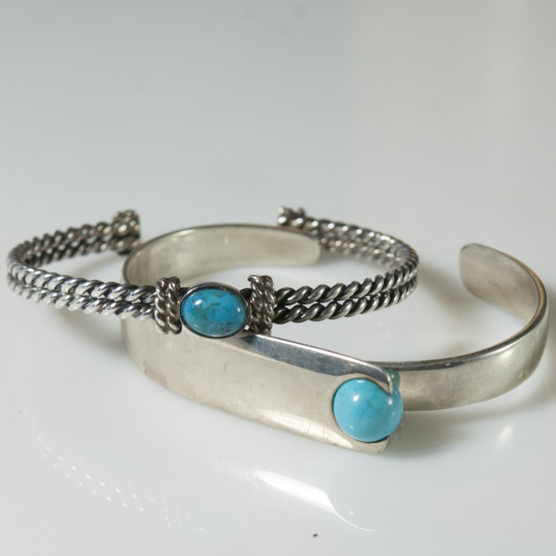 Sterling & Turquoise Cuffs