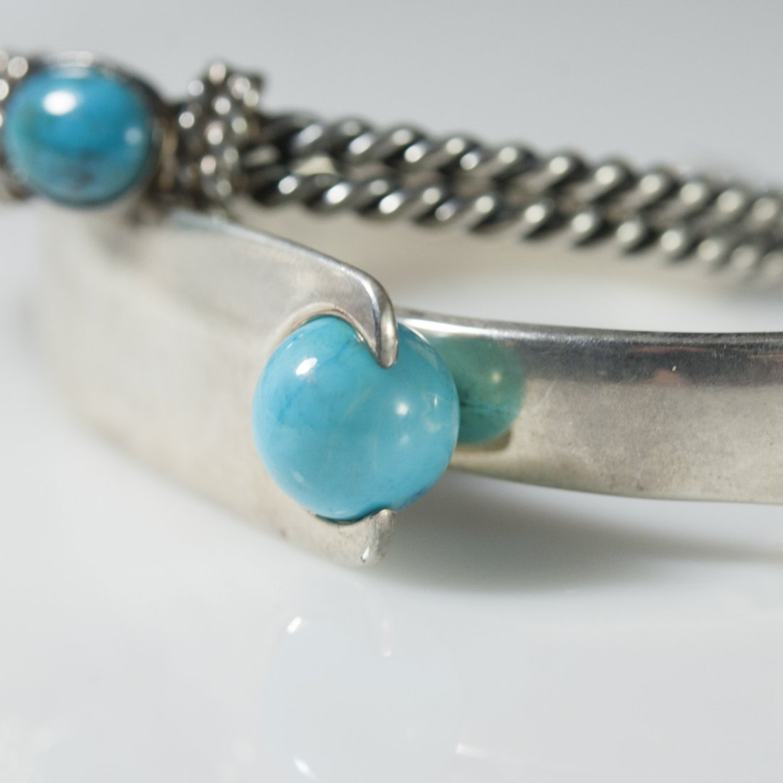 Sterling & Turquoise Cuffs - 2