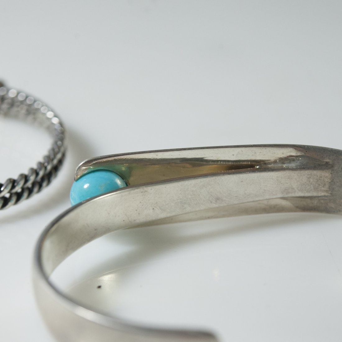 Sterling & Turquoise Cuffs - 5