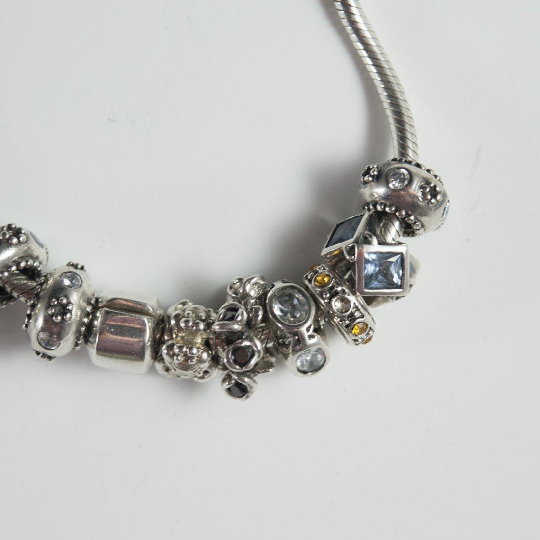 Pandora Style Sterling Bracelets - 2
