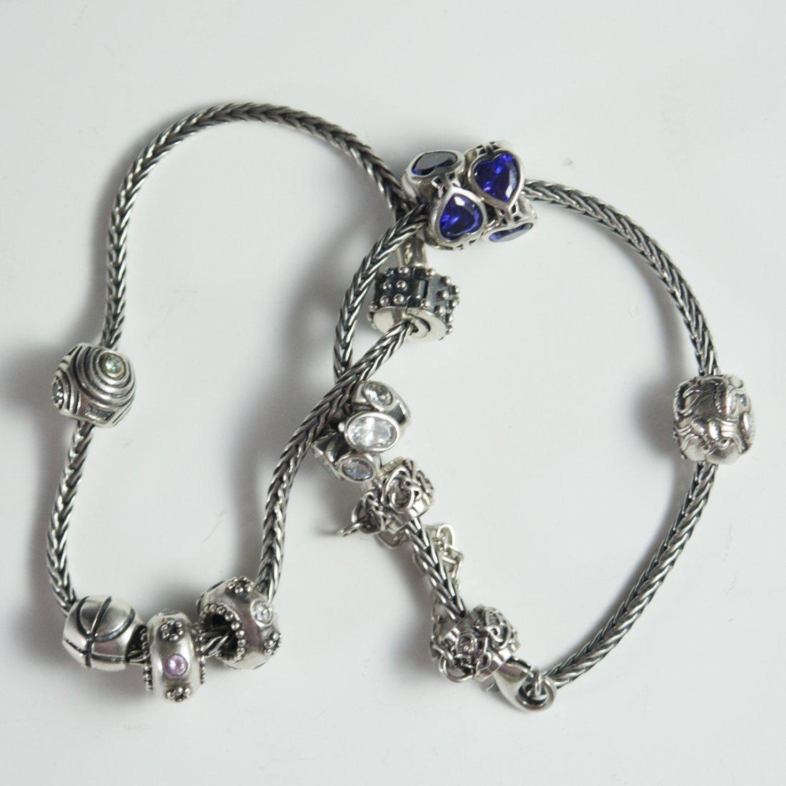Pandora Style Sterling Bracelets