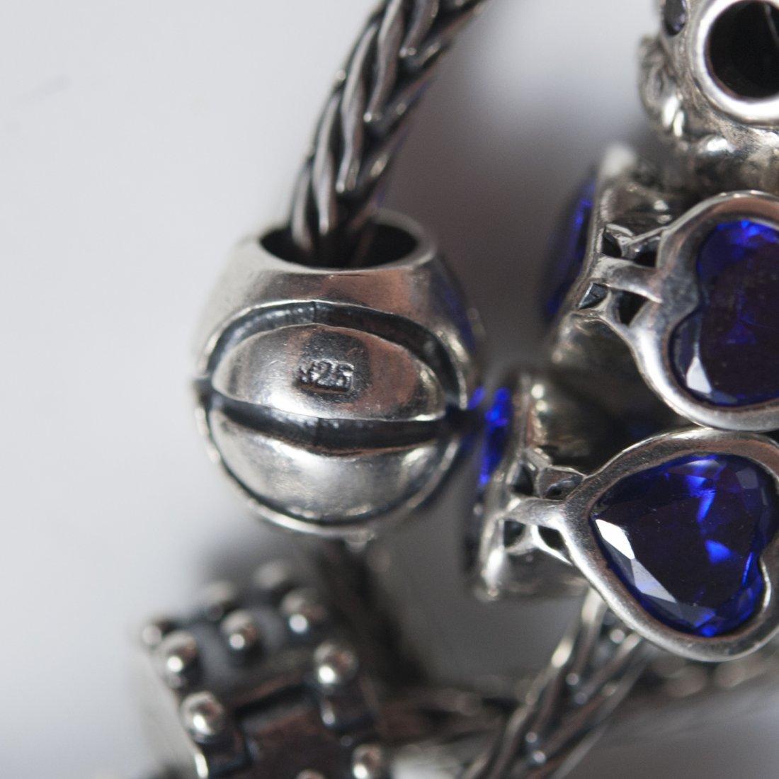 Pandora Style Sterling Bracelets - 3