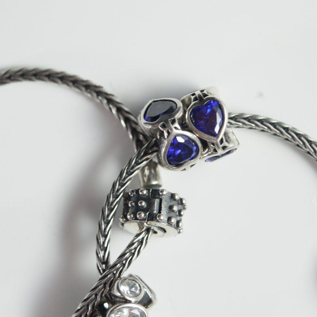 Pandora Style Sterling Bracelets - 4