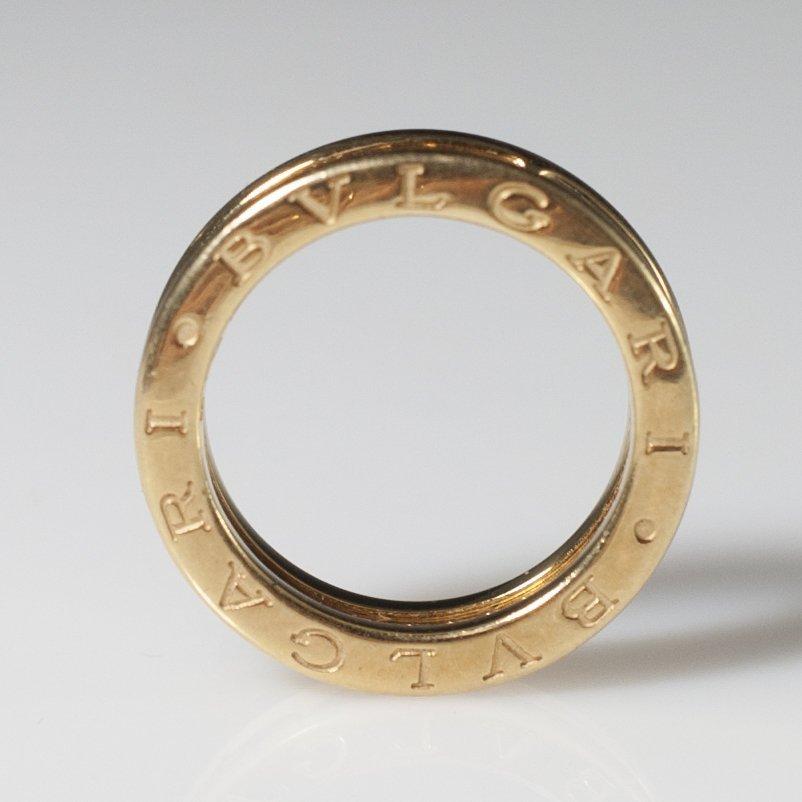 Bvlgari 18kt Gold & Diamond Wedding Band - 5
