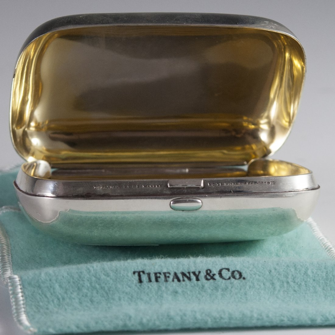 Tiffany & Co. Makers Sterling Pill Box - 4