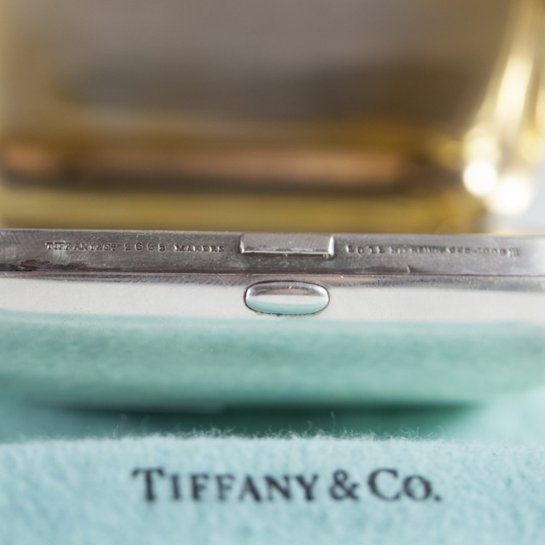 Tiffany & Co. Makers Sterling Pill Box - 5