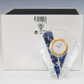 "Swarovski Crystal ""Curacao"" Clock"