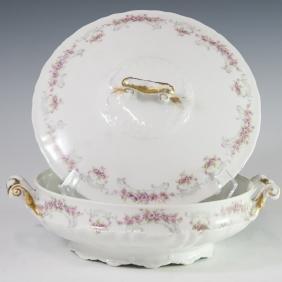 Theodore Haviland Limoges Porcelain Tureen