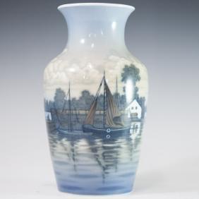 Dahl Jensen Limited Edition Arthur Boesen Vase