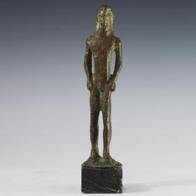 "Possibly Ancient Greek Bronze ""Kouros"""