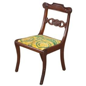 Versace Style Wooden Chair
