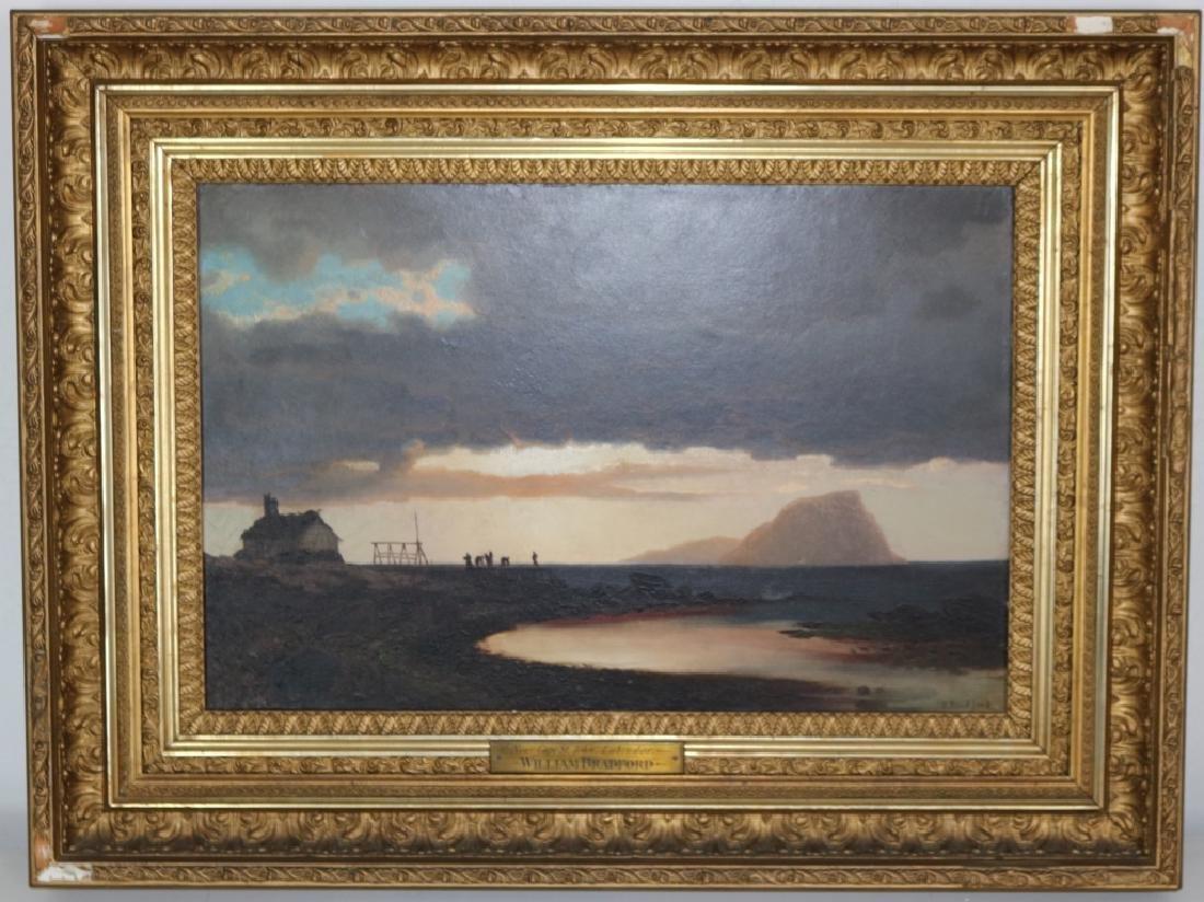 WILLIAM BRADFORD (1823-1892), OIL PAINTING ON