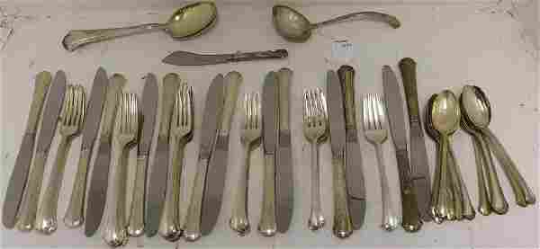 62 PIECE STERLING SILVER FLATWARE SET BY TOWLE,