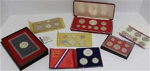 LARGE COLLECTION OF SILVER AND SILVER CLAD COINS