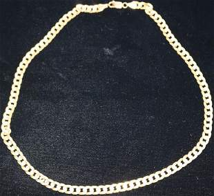 14KT ITALIAN GOLD LADYS 20 NECKLACE 247 DWT